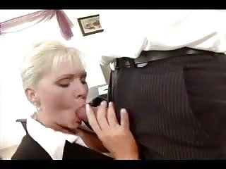 Blonde secretary fuck office - Blonde secretary fucked in stockings and a garter