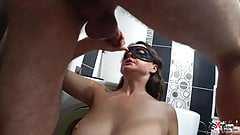 Hot Girl Gets Deep Facefuck And Swallows Cum After Work - Homemade