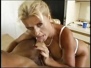 Milf slut blowjob Blonde milf slut sucks