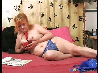 Latex girlfriends maniac pass Redhead is still slutty after 50