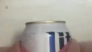 water birth of a Lite beer