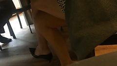 Colleague in high heels pumps 7