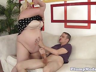 Mature fatty sex vids Mature fatty deepthroats huge cock