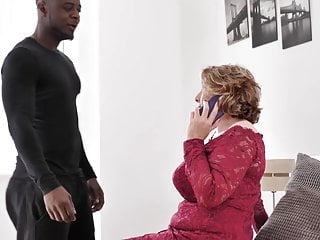 Unprotected oral sex British milf loves unprotected sex with younger black boys.