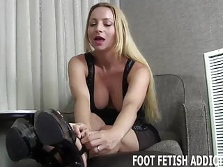 Fetish eyes videos - I have a special foot fetish treat for your eyes only