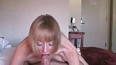 Blonde Milf Gets Her Sweet Fuckhole Filled With Jizz !