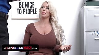 Huge Titted Milf Alura Jenson Gets Pounded For Harassment