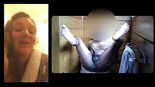 INDIAN man and a IRISH woman - Cam humiliation