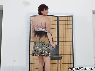 Wearing panties over pantyhose Euro gilf danja doesnt wear panties today