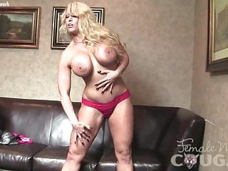 Female black porn stars - Female bodybuilder porn star alura jenson plays