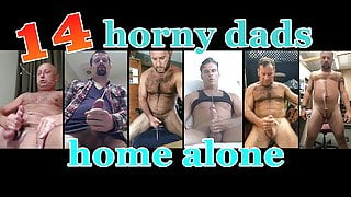 14 horny dads home alone