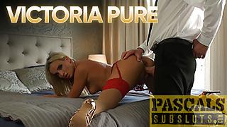 PASCALSSUBSLUTS - Blonde Victoria Pure Gets Rough Assfuck