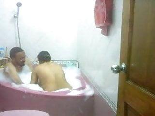 Sexual elder abuse - Desi bhabhi taking bath with husbands elder brother