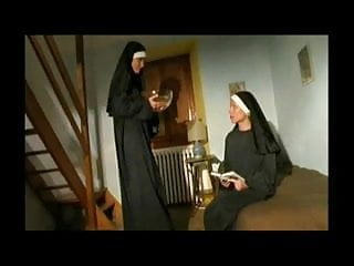 Stories of lesbian nuns - Couple of hot horny nuns