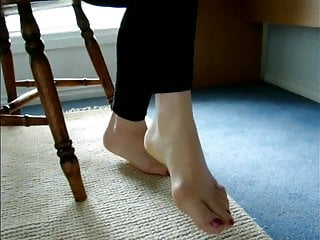 Sexy granny feet fetish Mature feet with lovely sexy bunions