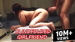 Blindfolded Wife has NO idea but she fucked hard by Stranger