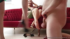 Bastienne Sharing is Caring 5 Latex Clad Dommes Ballbusting