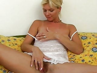 Hairy blonde girl Hairy blonde solo