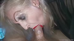 Joy goes down on my cock in my latest video