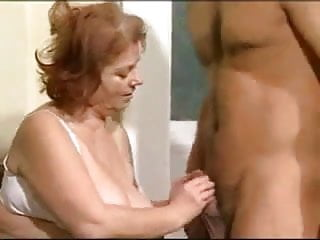 Woman licking assholes Sexy older woman giving pussy and asshole
