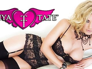 Tammy tate pussy Tanya tate in lingerie stockings slide toy into wet pussy