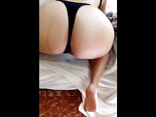Monokinis bikinis Big ass being punish in monokini