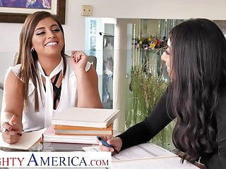 Knox and porn Naughty america - ella knox and violet myers fuck their boss