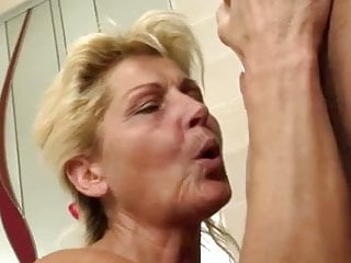 Young dudes fucking Mature renate a.k.a. betina suck and fuck dude in the thub