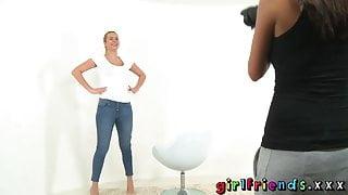 Girlfriends Horny chicks sexy photo shoot