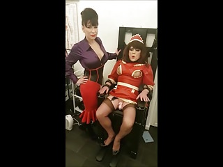 Reduction in breast size - Clit reduction through madame cs electric chair