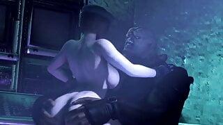 3D Resident Evil Jill Fucked By Nemesis