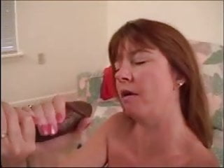 His first facial 2 Hubby films his cuckoldress getting a bbc facial 2