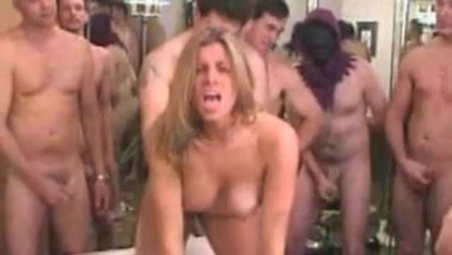 Dirty Blonde Cunt Services A Group of Cockss