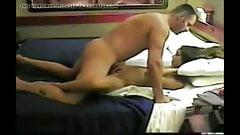 Gorgeous Teen Unaware of Daddy's Hidden Cam