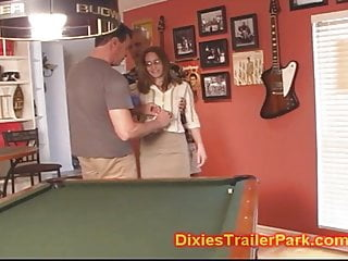 Husband fluffs at wifes gangbang Cuckold husband humiliated by wife