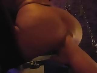 Trans vaginal tape sling Ass fisting in sling with squirt