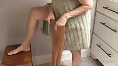Pantyhose Voyeur Dressing