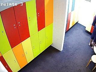 Naked locker room hidden camera Hidden camera in the locker room 3