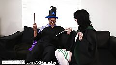 BurningAngel Goth Babes Horny Potter Cosplay!