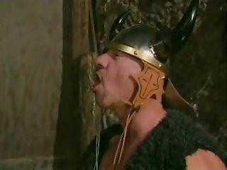 The viking sex - Vikings have their way with a maiden in a barn