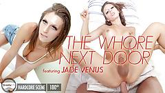 GroobyVR: Jade Venus in 'The Whore Next Door'