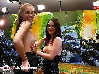C-lia teen Beautiful bibi and innocent lia-louise in sperm arena - ggg