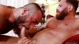 Bearback - Julian Torres Chokes On Riley Mitchel's Cock