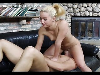 Nude black femdom Blonde mistress nude facesitting