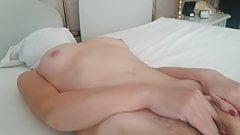My wife is naked and masturbates for you