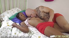 Ebony Babes Fantasy with her New Step-daddy