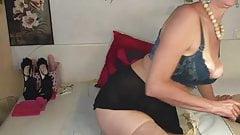 Russian Mom Masturbates