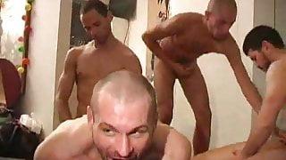 Five Horny Men