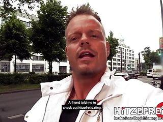 Fuck guns and dope Hitzefrei.dating street-fuck with german brunette lullu gun