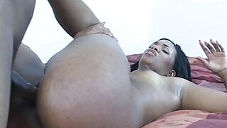 Ebony girl of exceeding beauty was drilled by lusty man